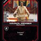 Elosha, Council Member BTR-106 (C) Battlestar Galactica CCG