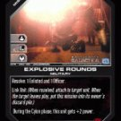 Explosive Rounds BTR-060 (U) Battlestar Galactica CCG