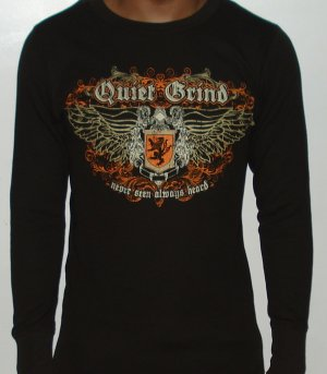 Quiet Grind  Brown Thermal Wing Shield Design