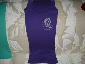 Quiet Grind Purple Female Tank With QG Logo