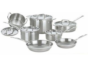 CUISINART 12 PC. COOKWARE SET , BRAND NEW!!