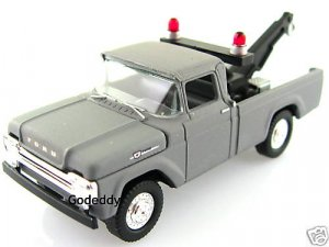 JOHNNY 1959 FORD 4X4 TOW TRUCK BLACK WHEELS VERSION