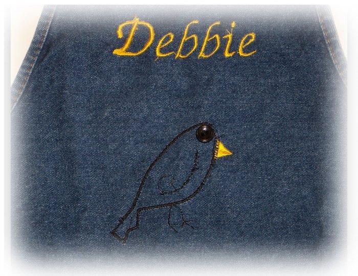 ~pRiM~ crow apron