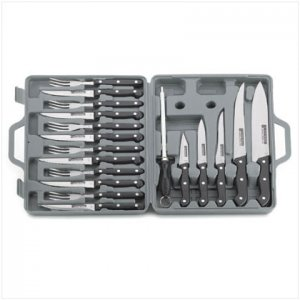 19 Pc. Knife Set In Case