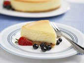 Plain New York Style Cheesecake