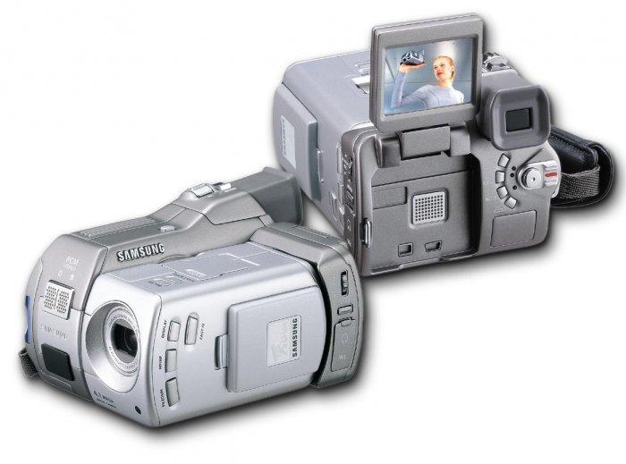 Samsung SCD5000 DuoCam MiniDV Camcorder & 4.13 Megapixels Digital Still Camera
