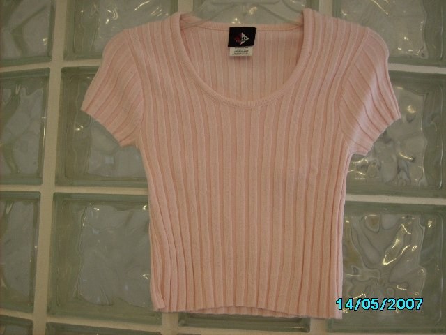 Ladies stretch knit top
