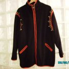 Bob Mackie designer fleece jacket