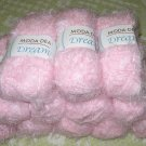 "$72 Lot--12 Skeins Moda Dea Dream ""Waterlily"" Yarn + Free Gift!"