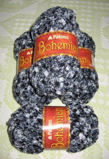 "$28 Lot--4 Skeins Bohemian ""Hypnotic Haze"" Yarn + Free Gift!"