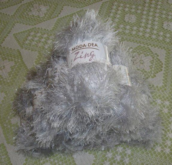 """$60 Lot--10 Skeins Moda Dea Zing """"Misty"""" Yarn + Free Gift!"""