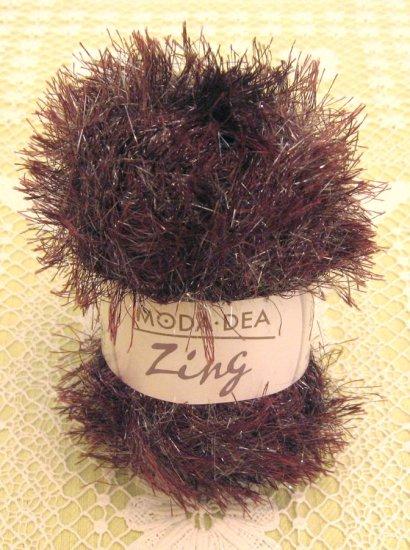 "Moda Dea Zing ""Chestnut"" Yarn ~ 1 Skein ~ $1.75"