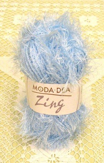 "Moda Dea Zing ""Blue Ice"" Yarn ~ 1 Skein ~ $1.75"