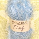 "Moda Dea Zing ""Blue Ice"" Yarn ~ 1 Skein ~ $1.75"