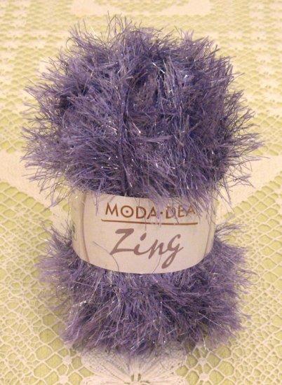 """Moda Dea Zing """"Grape Frost"""" Yarn ~ 1 Skein ~ $1.75"""