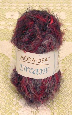 "Moda Dea Dream ""Crimson"" Yarn ~ 1 Skein ~ $4.50"