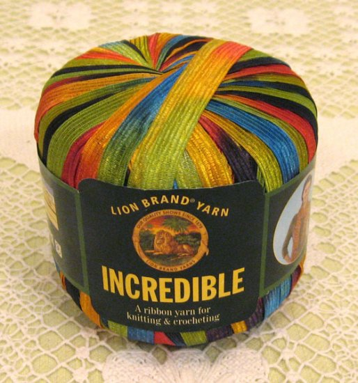 "Lion Brand Incredible ""City Lights"" Yarn ~ 1 Skein ~ $4"