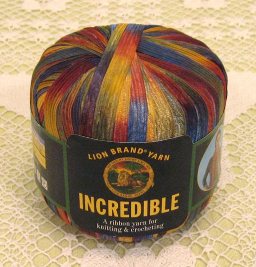 """Lion Brand Incredible """"Copper Penny"""" Yarn ~ 1 Skein ~ $2.50"""