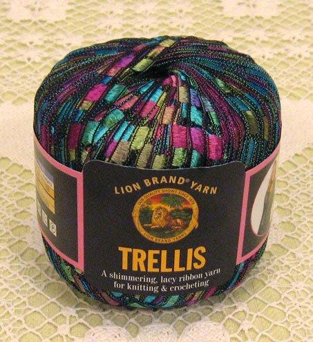 """Lion Brand Trellis """"Stained Glass"""" Yarn ~ 1 Skein ~ $12"""