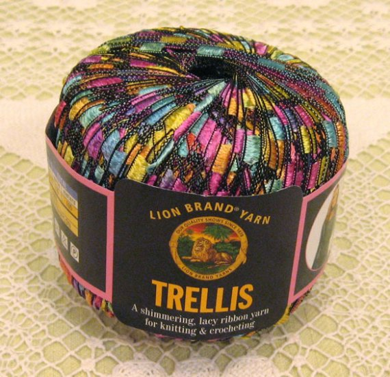 """Lion Brand Trellis """"Pastel Garden"""" Yarn ~ 1 Skein ~ $12"""