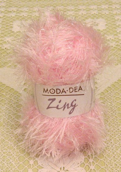 "Moda Dea Zing ""Icy Pink"" Yarn ~ 1 Skein ~ $1.75"