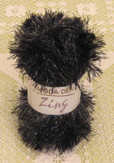 "Moda Dea Zing ""Midnight"" Yarn ~ 1 Skein ~ $1.75"