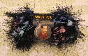 """Lion Brand Fancy Fur """"Northern Lights"""" Yarn ~ 1 Skein ~ $2.75"""