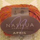 "Nashua April ""Coral"" Cotton Yarn ~ 1 Skein ~ $3.50"