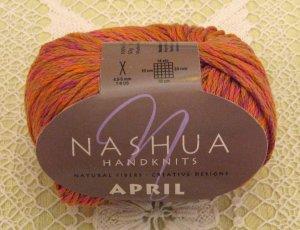 """Nashua April """"Coral"""" Cotton Yarn ~ 1 Skein ~ $3.50"""