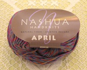 "Nashua April ""Lavender Blue"" Cotton Yarn ~ 1 Skein ~ $3.50"
