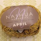 "Nashua April ""Honey"" Cotton Yarn ~ 1 Skein ~ $3.50"