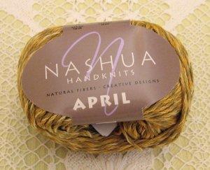"Nashua April ""Honey"" Cotton Yarn ~ 1 Skein ~ $3.50"