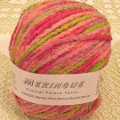 "Crystal Palace Meringue ""Strawberry Limes"" Yarn ~ 1 Skein ~ $4"