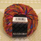 "Filatura Di Crosa Allegro ""1 Orange Multi"" Yarn ~ 1 Skein ~ $5"