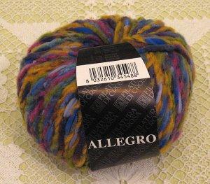 """Filatura Di Crosa Allegro """"9 Purple Multi"""" Yarn ~ 1 Skein ~ $5"""