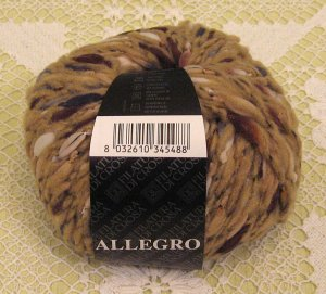 "Filatura Di Crosa Allegro ""13 Tan Multi"" Yarn ~ 1 Skein ~ $5"