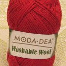 "Moda Dea Washable Wool ""True Red"" Yarn ~ 1 Skein ~ $5"