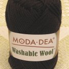 "Moda Dea Washable Wool ""Coffee"" Yarn ~ 1 Skein ~ $5"