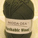 "Moda Dea Washable Wool ""Moss"" Yarn ~ 1 Skein ~ $5"