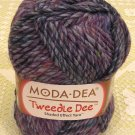"Moda Dea Tweedle Dee ""Blue Heather"" Yarn ~ 1 Skein ~ $6"