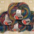 "$66 Lot--6 Skeins Muench Furrari ""4405"" Mohair Yarn + Free Gift!"