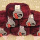 "$66 Lot--6 Skeins Muench Furrari ""4409"" Mohair Yarn + Free Gift!"