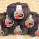 "$66 Lot--6 Skeins Muench Furrari ""4411"" Mohair Yarn + Free Gift!"