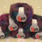 "$66 Lot--6 Skeins Muench Furrari ""4414"" Mohair Yarn + Free Gift!"