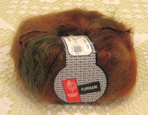 "Muench Furrari ""4407"" Mohair Self-Striping Yarn ~ 1 Skein ~ $7"