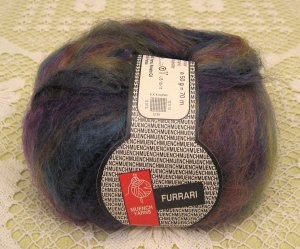"Muench Furrari ""4411"" Mohair Self-Striping Yarn ~ 1 Skein ~ $7"