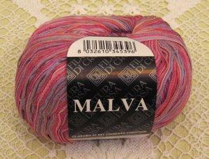 "Filatura Di Crosa Malva ""12 Pink Multi"" Yarn ~ 1 Skein ~ $5"