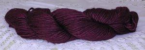 "Filatura Lanarota Soft Silk ""2028 Maroon"" Yarn ~ 1 Skein ~ $7"