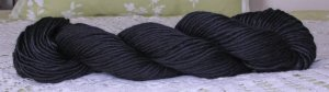"Filatura Lanarota Soft Silk ""500 Rich Black"" Yarn ~ 1 Skein ~ $7"