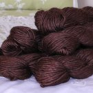 "6 Skeins Filatura Lanarota Soft Silk ""1023 Chocolate Brown"" Yarn + Free Gift!"